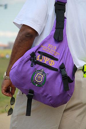 Omega Psi Phi - Omega Psi Phi shoulder bag