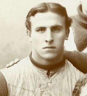 "1894 Michigan Wolverines football team - 1895 team captain ""Pa"" Henninger scored two touchdowns against Olivet."