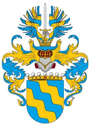 Anton Lehár - Lehár's arms as a baron, 1918.