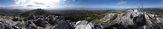 California Historical Landmarks in San Benito County, California - Image: Fremontpeak panorama