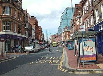 Friar Street, Reading - Friar Street looking west in 2007
