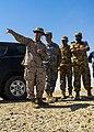 From left, U.S. Marine Corps Lt. Col. Kevin Collins, the commanding officer of Combat Logistics Battalion 26, 26th Marine Expeditionary Unit; Army Maj. Gen. Robert Catalanotti; and Qatari Emiri Land Force 130429-M-HF949-007.jpg