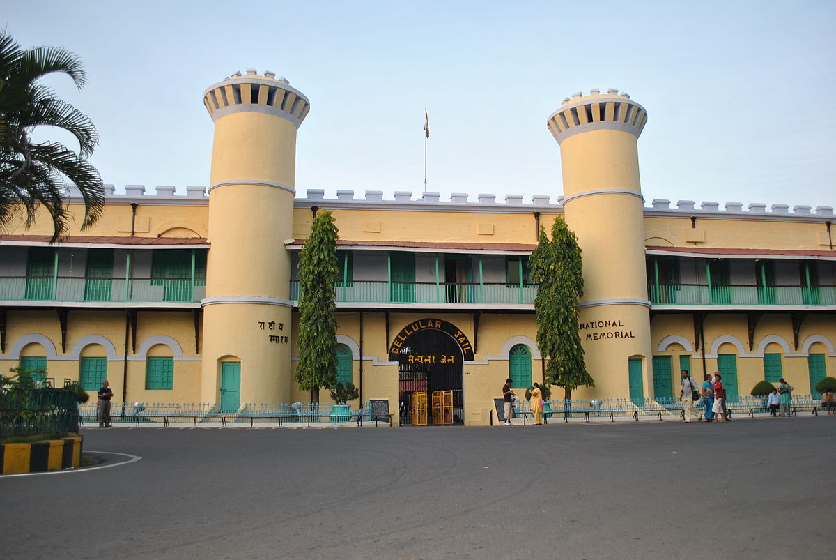 Cellular jail photo gallery