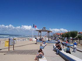 La plage de soulac-nord