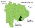 Fujiyoshida in Yamanashi Prefecture.png
