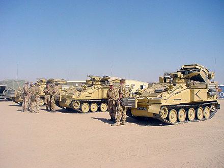 ПУ ПТУР «Страйкер» в Ираке,