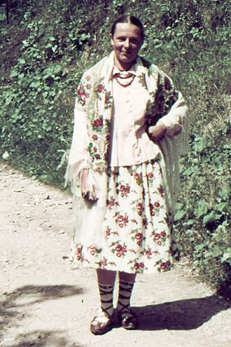 Agfacolor - An Agfacolor slide dated 1938 from Zakopane in Poland.