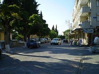 Gördes District in Aegean, Turkey