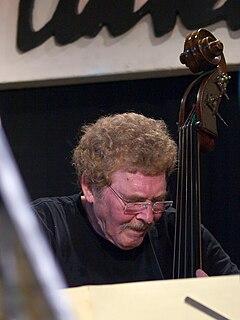 Günter Lenz German jazz bassist and composer