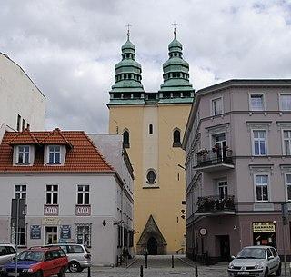 Głuchołazy Place in Opole, Poland