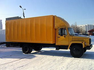 GAZ 3307/3309 - Van based chassis GAZ-33091 with a long base