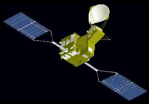 Global Change Observation Mission - An artist's rendering of GCOM-W1.
