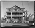 GENERAL VIEW FROM SOUTH - Robinson-Aiken House, 48 Elizabeth Street, Charleston, Charleston County, SC HABS SC,10-CHAR,177-6.tif