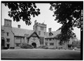 GENERAL VIEW OF EAST FRONT, FROM SOUTH - Stan Hywet Hall, 714 North Portage Path, Akron, Summit County, OH HABS OHIO,77-AKRO,5-6.tif