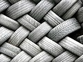GOC Leagrave to Harpenden 076 Wall of tyres (8573432069).jpg