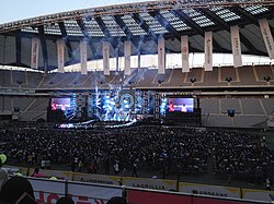 GOT7 performing at Dream Concert 2015.jpg