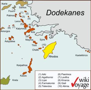 Karte Rhodos Urlaub.Rhodos Reiseführer Auf Wikivoyage