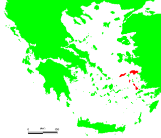 Eastern Sporades Place in Hellenic State