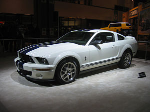 2007 Shelby GT500 at the Los Angeles Auto Show.