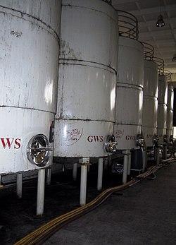 Weinkellerei in Telawi