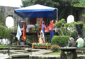 Immigration to Costa Rica - Celebration of Santiago Apóstol in Costa Rica.