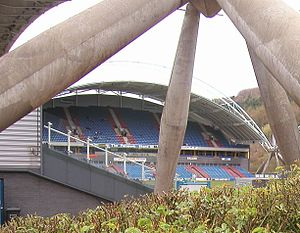 West Yorkshire derby - The John Smith's Stadium, home of Huddersfield Town