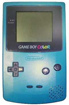 The Game Boy Color was the first handheld by Nintendo featuring Colors.
