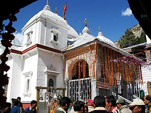 Amar Singh Thapa - Gangotri Temple was built by Bada Kaji Amar Singh Thapa