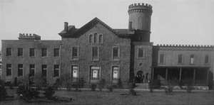 Garden State Crematory - Photograph from 1907 of the newly renovated Crematory.