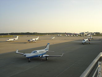 General aviation - The General Aviation Terminal at Raleigh-Durham International Airport