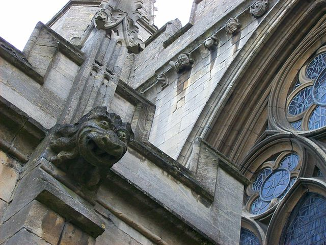 Gargoyle on St Wulfram's
