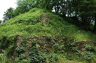 Gassantoda Castle - Image: Gassan Toda Castle 10
