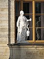 Gatchina. Statue Vigilance about Gatchina Palace-2.jpg