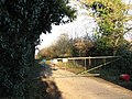 Gate at the end of Marsh Road - geograph.org.uk - 1110237.jpg