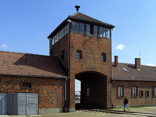 Gatehouse Auschwitz II (Birkenau), Poland