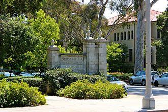 Pomona College - College Gates