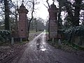 Gateway and Drive to Rainthorpe Hall - geograph.org.uk - 355428.jpg