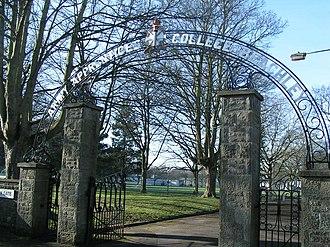 Beachley - Entrance to Beachley Barracks