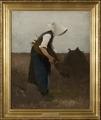 Gathering Poppies. Study (Hugo Salmson) - Nationalmuseum - 18826.tif