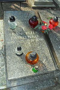 Gdańsk Cmentarz Srebrzysko – Franciszek Duszeńko.JPG