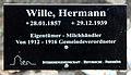 Gedenktafel Hönower Str 13 (Mahld) Hermann Wille.jpg