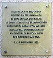 Gedenktafel Ziegelstr 30 (Mitte) Zentraler Runder Tisch der DDR.jpg