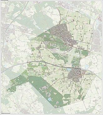 Gilze en Rijen - Image: Gem Gilzeen Rijen Open Topo