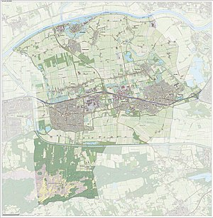 Heusden - Dutch Topographic map of Heusden, June 2015