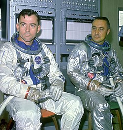 John Young et Gus Grissom