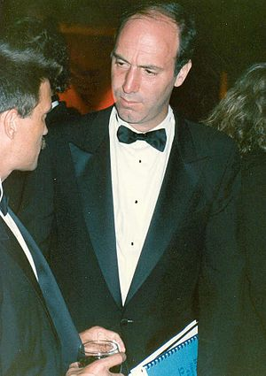 Movie critic Gene Siskel at the Governor's Bal...