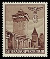 Generalgouvernement 1940 40 Florianstor in Krakau.jpg