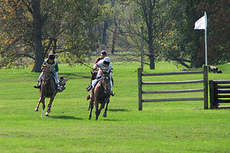 Hunt Valley, Maryland - Horse Racing right outside Hunt Valley, Maryland