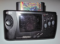 The Nomad shown with Sonic the Hedgehog 3 inserted