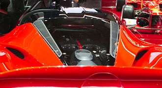 LaFerrari - Engine compartment